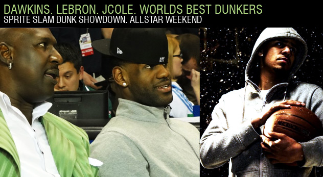 2012 Sprite Showdown Finalist Announced | LeBron & J.Cole Judging Dunk Contest