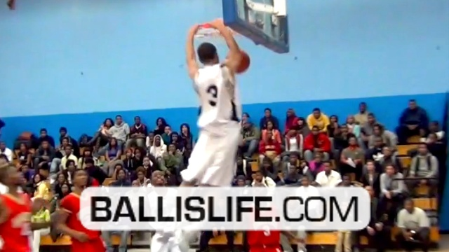 6ft combo guard w/ BOUNCE: Kyle Davis junior season mix (Chicago Hyde Park)