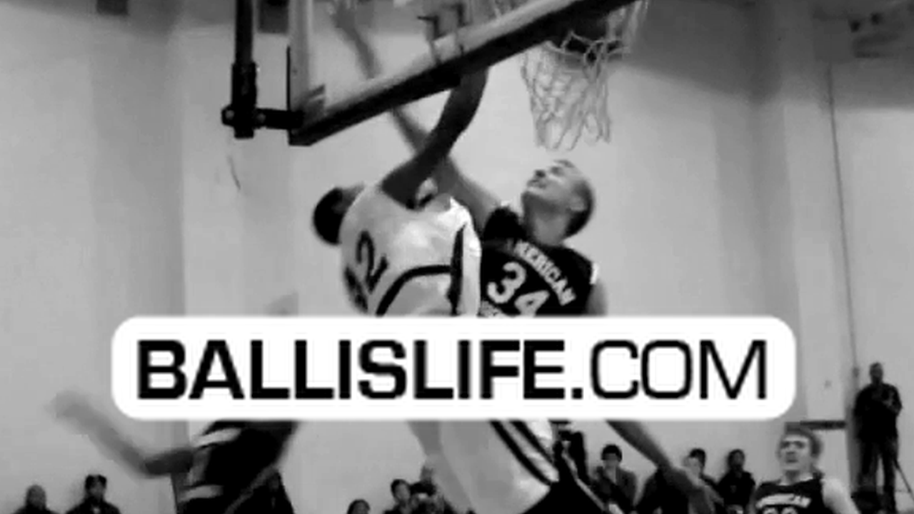 "Ballislife | Dunk of the Day: 6'4"" Torian Graham Posterizes 7'2"" Center"