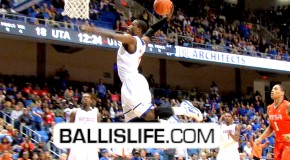 DOD: LaMarcus Reed III & Kevin Butler BACK 2 BACK DUNKS & SHUT-DOWN The UTA College Park Center!!!