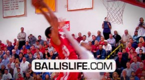 6'7″ Xavier Johnson SICK Dunk On The Defender And 1 vs Orange Lutheran!