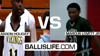 Freshman Phenoms Marcus Lovett and Aaron Holiday (Jrue Holiday's Younger Bro) Face Fff!!