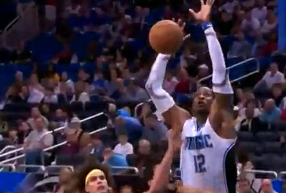 Dwight Howard 19pts 16rebs & 8blks including Volleyball Block