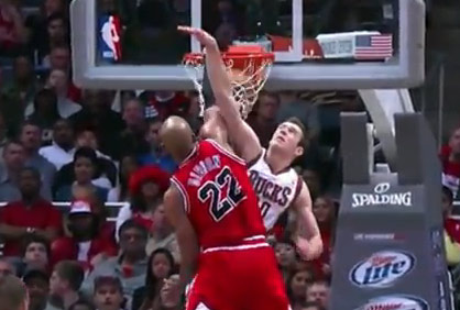 Dunk of the Night: Taj Gibson on Jon Leuer