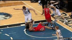 Kevin Love Stomps on Luis Scola's Face | Suspension coming?