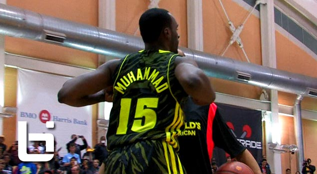 Shabazz Muhammad Wins 2012 McDonald's All American Dunk Contest!! Archie Goodwin SHOWS OUT!