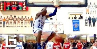 66 Glenn Robinson III (Michigan commit) powers Lake Central (IN) to sectional title