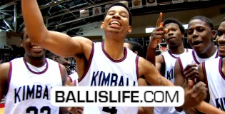 6'5″ Keith Frazier-Regional Champs & Leads Dallas KImball To The State Tournament.