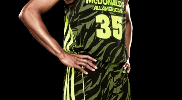 McDonald's All American adizero West Uniform1