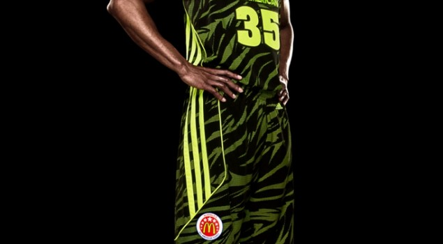 McDonald's All American adizero West Uniform2