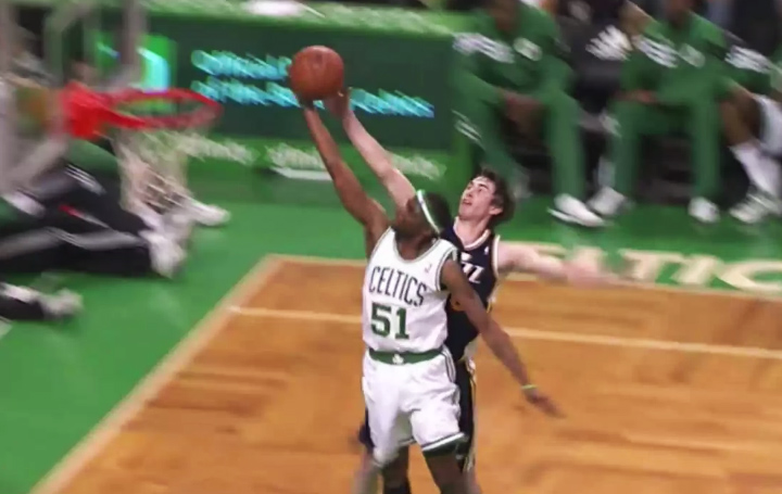 Blocks of the Night: Gordon Hayward back-to-back blocks on Celtics