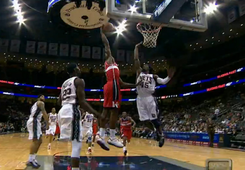 Jordan Crawford dunks on Gerald Wallace   No footage confiscated