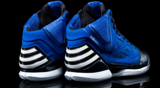 adizero Rose 2.5 'Black and Blue' - Heel