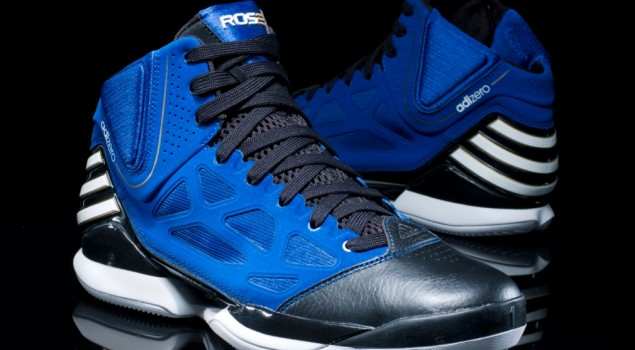 adizero Rose 2.5 'Black and Blue' - Hero