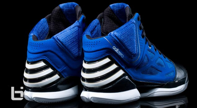 "New adizero Rose 2.5 ""Black and Blue"" Colorway"