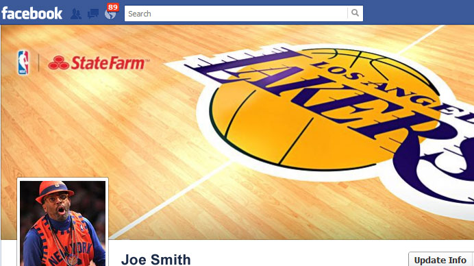 What does a NBA Fanatic look like on Facebook