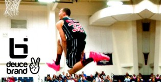 Anthony January & Glenn Robinson III SHUT DOWN Deuce Brand Dunk Contest! BEST High School Dunk Contest of The Year!?