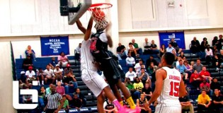 Tyrone Wallace INSANE Poster Dunk On Anthony January During Ballislife All American Game!