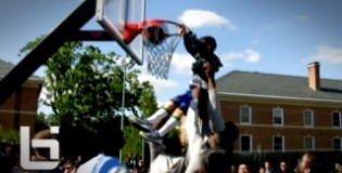 UNC Basketball Team Crashes Cobb & Takes on Students – Little Kid Steals the Show! Next Kendall Marshall?