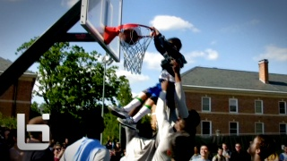 Ballislife | UNC Basketball Team Crashes Cobb & Takes on Students - Little Kid Steals the Show! Next Kendall Marshall?