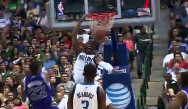 Vince Carter airballs a layup then posterizes Hassan Whiteside