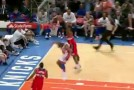 Smart Play of the Day: John Wall says Happy Birthday to Baron Davis by Dunking on him