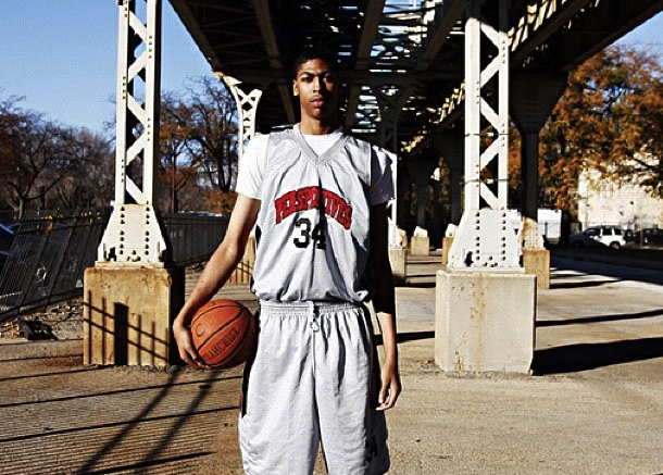 Anthony Davis was a BEAST in High School too