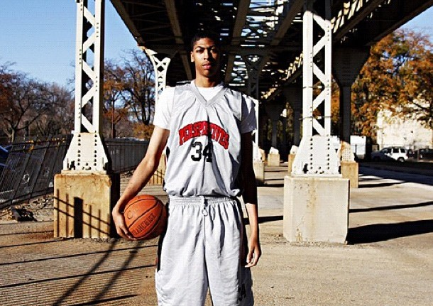Ben Simmons Training >> Anthony Davis was a BEAST in High School too