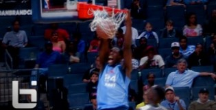 6'7″ VT Commit Montrezl Harrell DOMINATES the 2012 Jordan Brand Classic Regional Game: Game Recap
