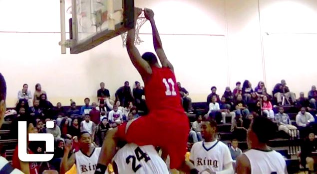 6'9 Cliff Alexander Official Sophomore Season Mix: Top 10 in 2014 (Chicago Curie HS)
