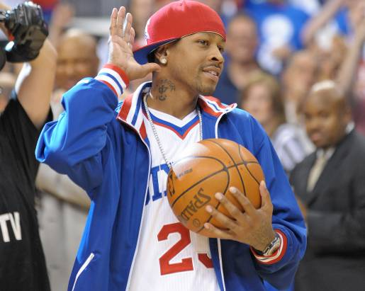 Iverson Returns to Philly | Delivers Game Ball + Interview + Philly Mix
