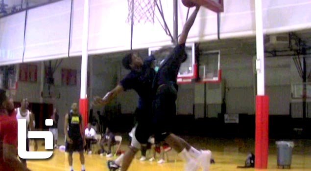 John Wall SLAMS Over Defender: Returns Home & Crashes Garner Road for College Open Run