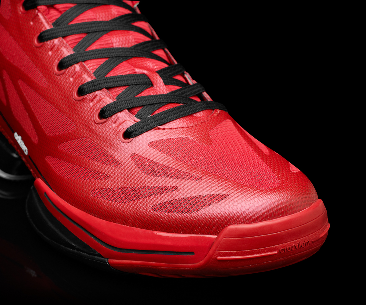 huge selection of f9eed d6d4a ... USA White Navy Light Scarlet G48805 (1) Adidas adiZero Crazy Light 2  Lighter, Stronger New Colorway + Interview W Designer!