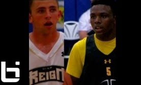 Aquille Carr (Seton Hall) & Nick Emery (BYU) Light Up the 2012 Hoop Group Philly Jam Fest Presented by Under Armour