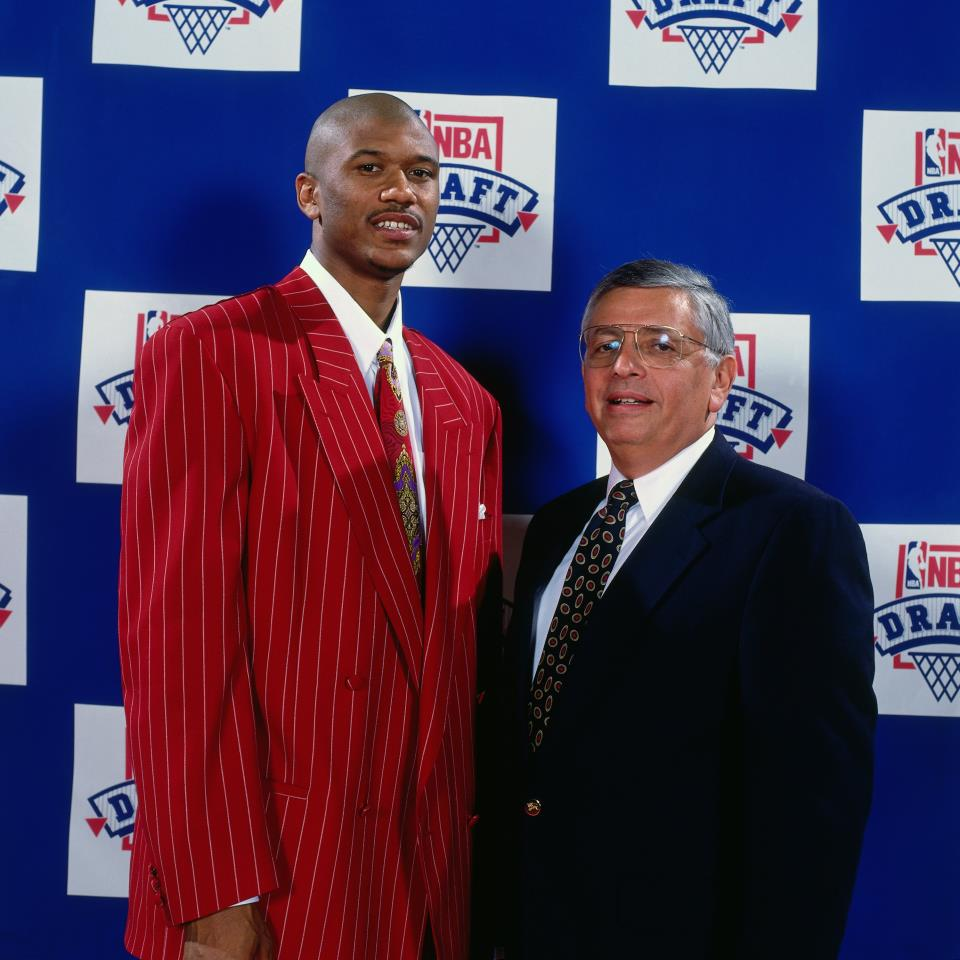 Pic of the Day Jalen Rose on Draft Night