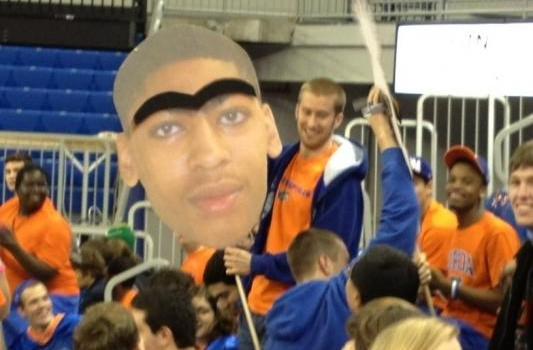 Anthony Davis Unibrow Kentucky Wildcats