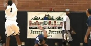 Trevor Ariza Gets His Ankles Broken By Brandon Heath at The Drew League (Same Guy Who Dropped The Game)