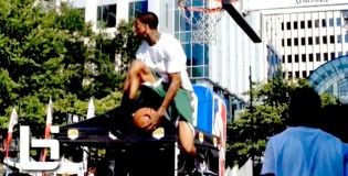 6&#8217;6&#8243; Gary Smith NEVER Before Seen Dunk! Off The Side Of Backboard REVERSE Eastbay Dunk!