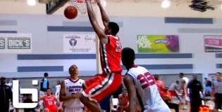 6'11″ Jahlil Okafor DOMINATING The Paint During Dallas & Oakland EYBL! Extremely Skilled Big-man!