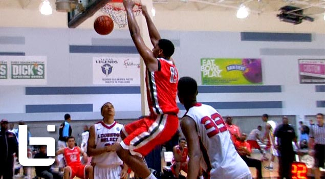 "6'11"" Jahlil Okafor DOMINATING The Paint During Dallas & Oakland EYBL! Extremely Skilled Big-man!"