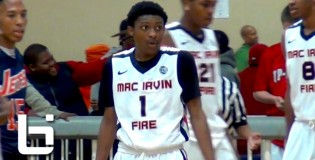 5'10 Marcus LoVett, Jr. Spring highlights mixtape: Top 15 year old playing with Mac Irvin Fire 17U