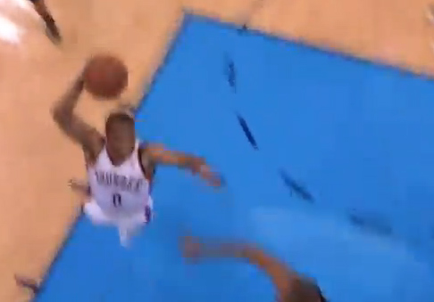 Russell Westbrook's Ridiculous Dunk in GM6