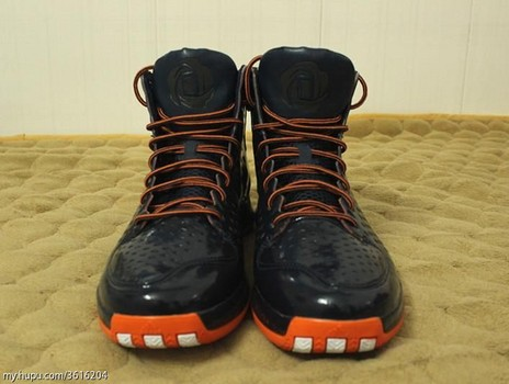new style a55aa 17ac2 Derrick Rose adiZero Rose 3 Revealed + NEW Chicago Bears Colorway