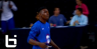 Aquille Carr Continues to Shine Amongst Nations Elite at NBPA Top 100 Camp: DROPS DEFENDER!