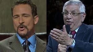 """David Stern to Jim Rome: """"Have you stopped beating your wife yet?"""""""