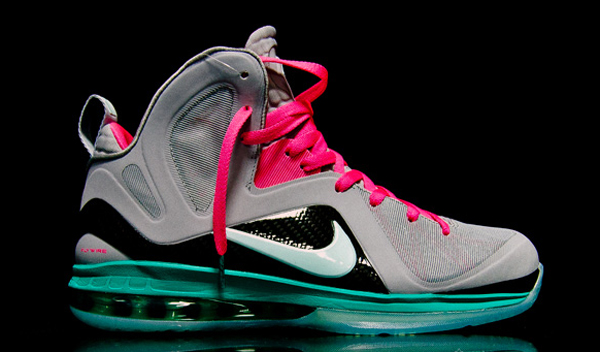 "premium selection bc17c 7b1b5 Nike Lebron James 9 ""South Beach"" Edition"