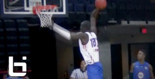 7'6″ Senegalese Center Mamadou Ndiaye NBPA Top 100 Camp Performance