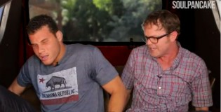 Rainn Wilson Lures Blake Griffin Into His Van (Metaphysical Milkshake)