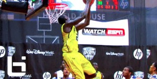 "6'6″ Derrick Griffin ""Houston Defenders""- Has THREE Nasty Dunks on ESPNU!"