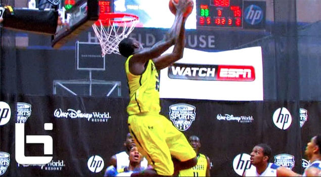 Ballislife | Derrick Griffin Dunks on ESPNU